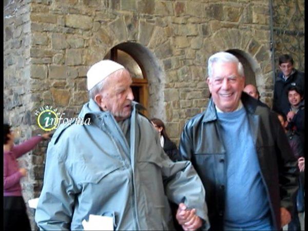 Mario Vargas Llosa en Chacas